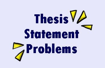 Thesis Statement Vs Abstract